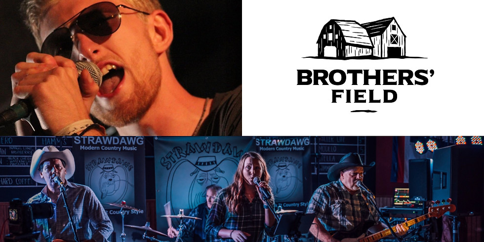 Brothers' Field LIVE-Zack Fedor and Strawdawg Band