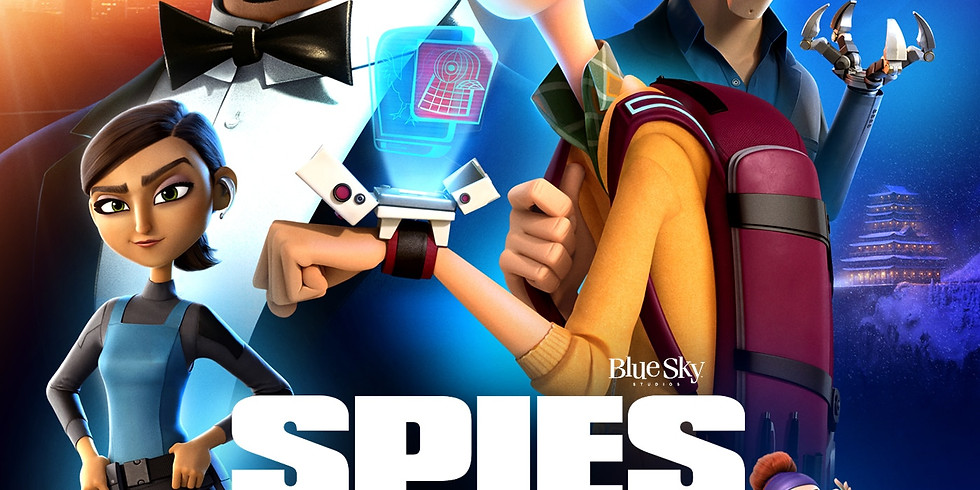 Spies in Disguise-Outdoor Movie Night!