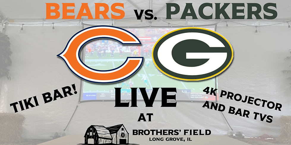 BEARS/PACKERS GAME LIVE
