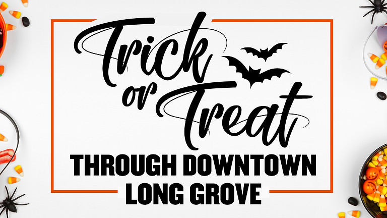 Trick-Or-Treat Through Downtown Long Grove!
