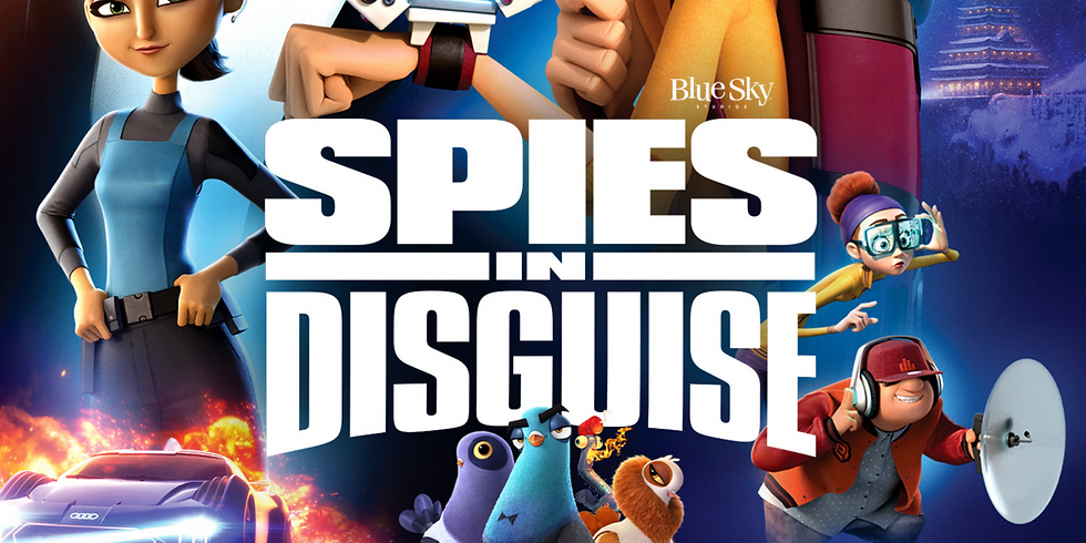 """Double Feature Movie Night! """"Spies in Disguise"""" & """"RIO"""""""