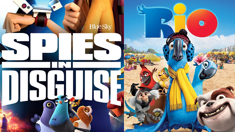 Double Feature Movie Night! Spies in Disguise & RIO