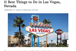 11 BEST THINGS TO DO IN LAS VEGAS