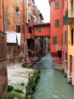 Canal in Bologna