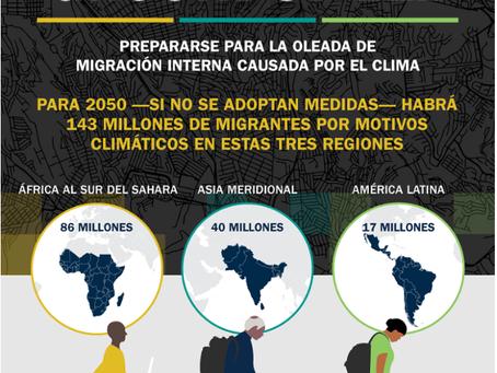 Migraciones internas a causa de impactos climáticos