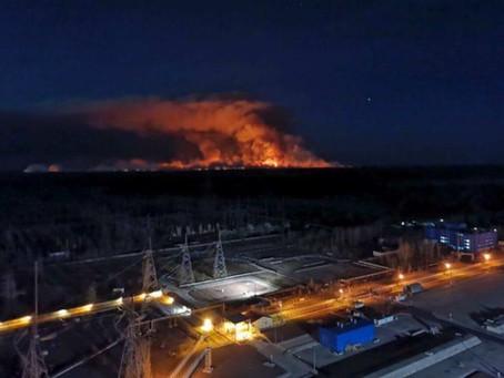 El mundo en alerta mundial por Chernobyl
