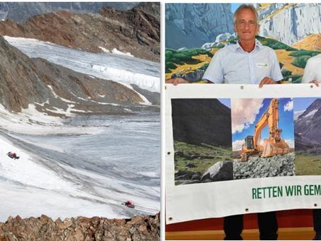 Denuncian destrucción de glacial en Austria