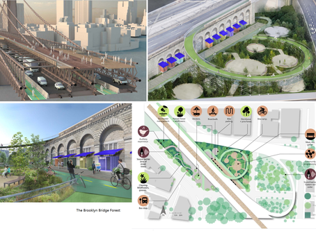 El icónico Puente de Brooklyn de Nueva York se renueva