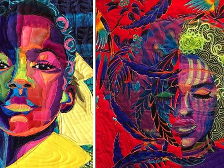 Moda reciclada en arte
