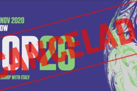COP26 cancelada