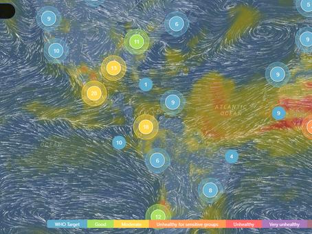Urban Air Action monitoreo de la calidad del aire en tiempo real
