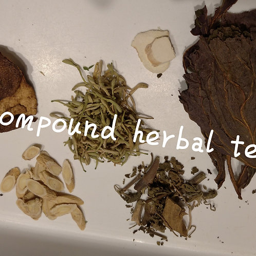 Compound Herbal Tea - boost energy