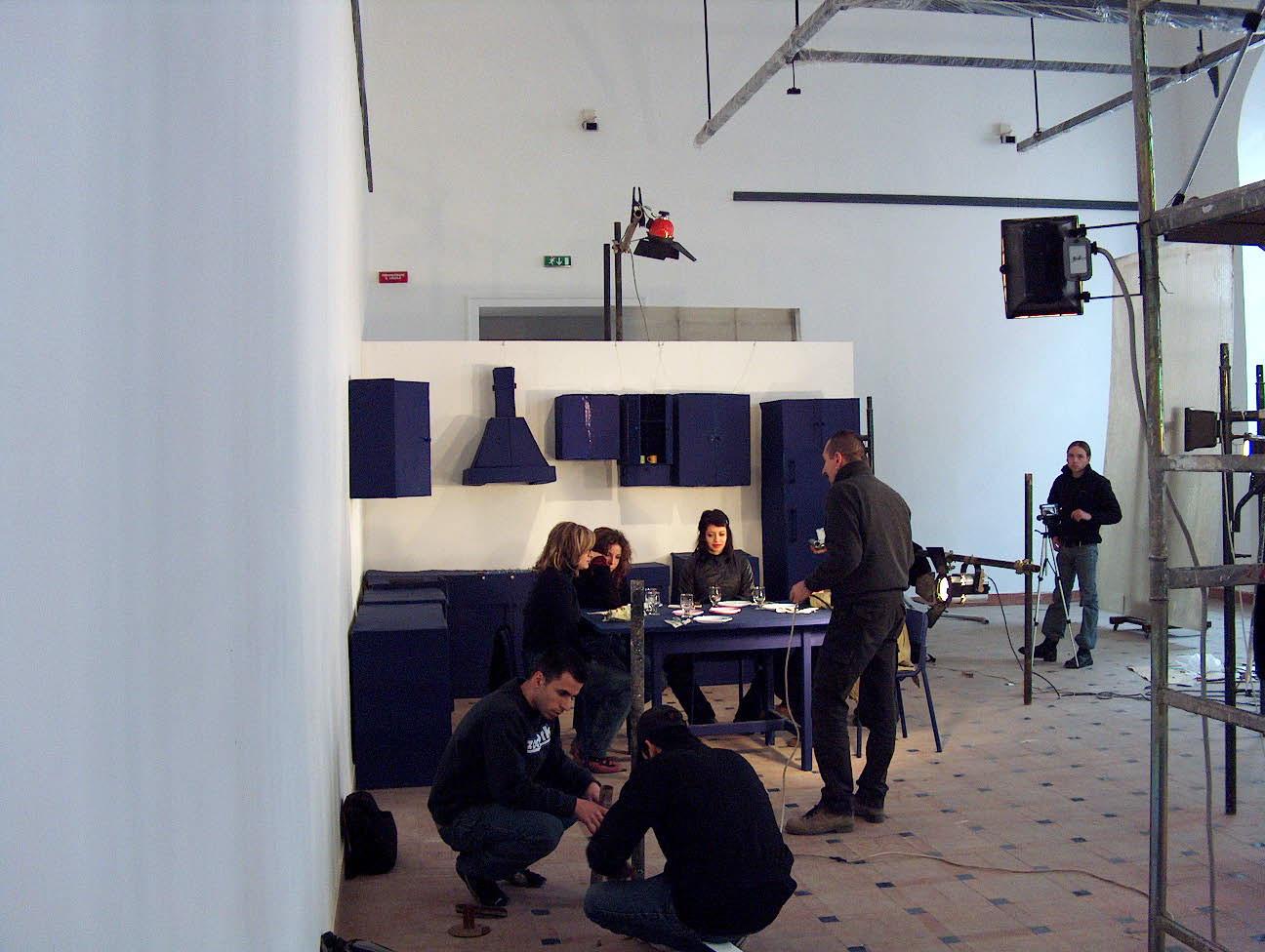 inKITCHEN installation, videoclip