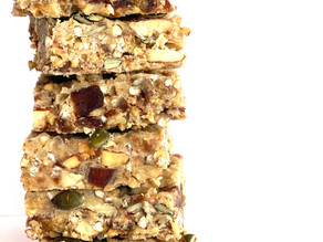 No-Bake Buckwheat Snack Bar