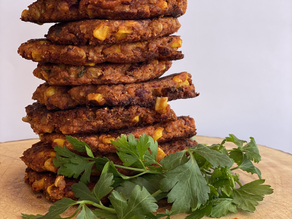 Mexi Protein Fritters (vegan)