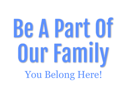 be a part of our family you belong hee.p