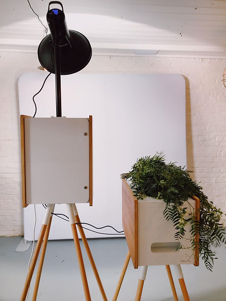 A photo booth set up at marybank in the adelaide hills