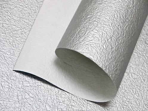 Papier froissé - argent