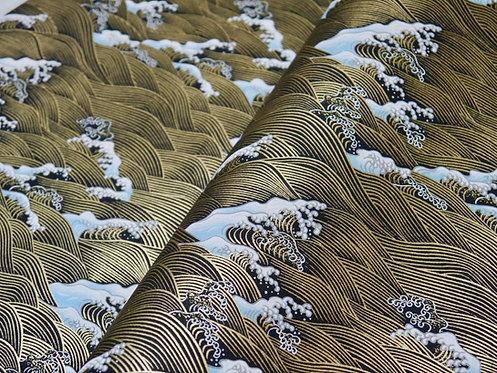 Vagues Hokusai - noir