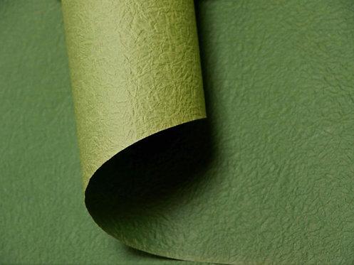 Papier froissé bicolore - vert