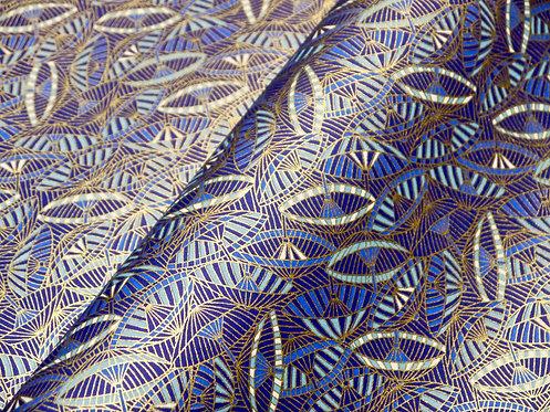 Janomé bleu - texture proche intissé