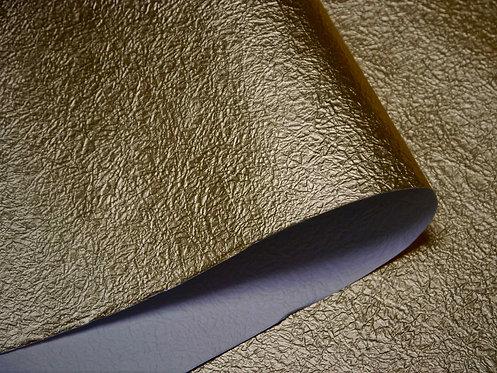 Papier froissé - or