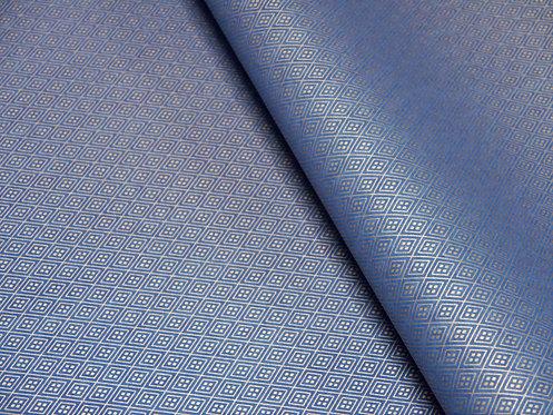 Losanges dorés - bleu