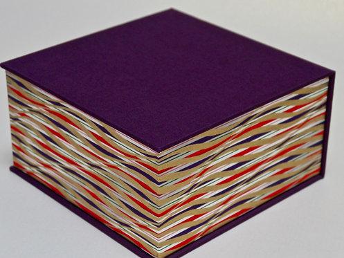 Coffret carré - violet