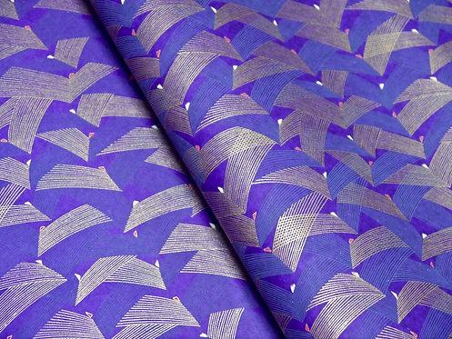 Ailes violettes dorées