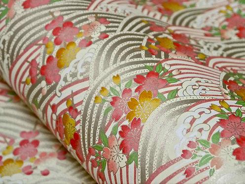 Vagues Sakura Umé - rose