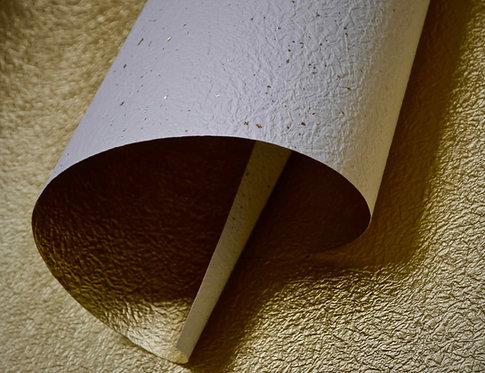 Papier froissé bicolore - or / éclats dorés et argentés