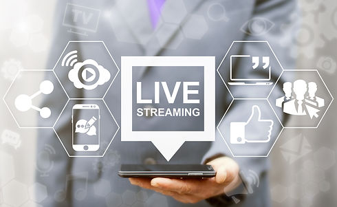 Live streaming social media web network