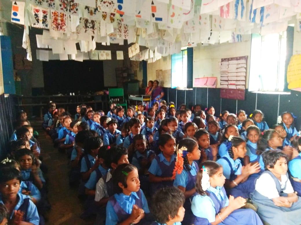 School Out Reach -  Harti Gadag