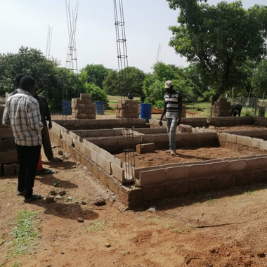 Construction of Housing for Teachers Continues