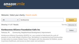 Help KAFO with AmazonSmile!