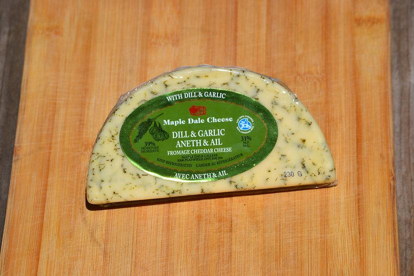 Garlic & Dill Cheddar- Maple Dale Cheese