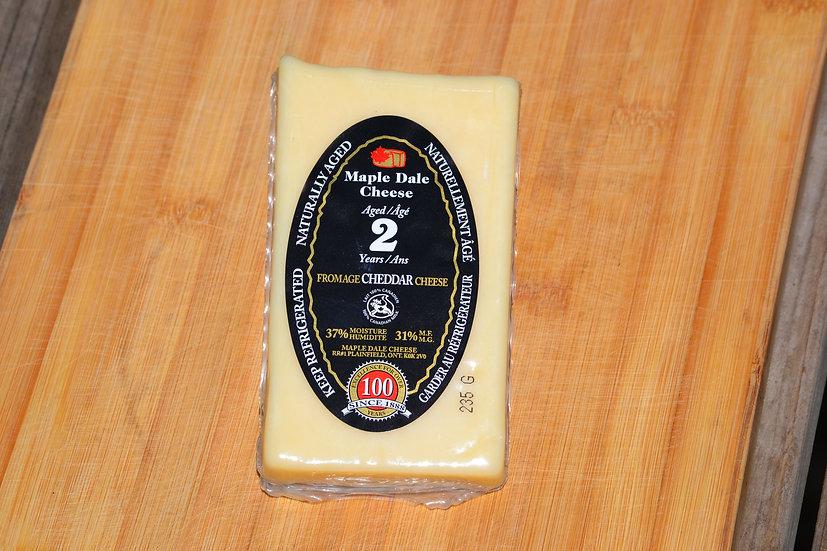 2yr Old Cheddar- Maple Dale Cheese