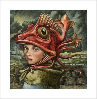 The YOUNG FISHWIFE Signed Limited Edition Giclee Print
