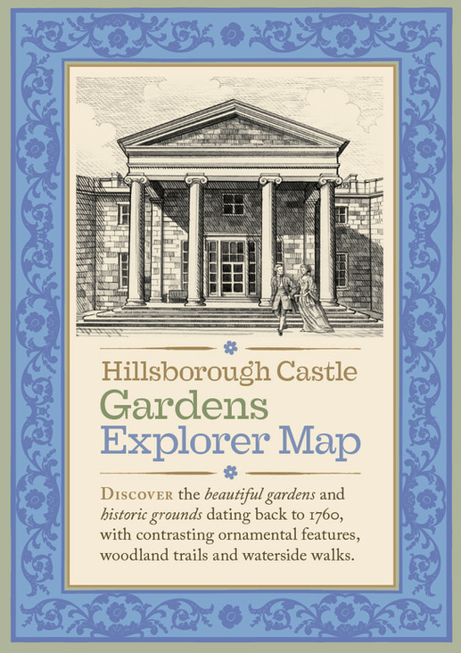 Hillsborough Castle Visitor's hand guide