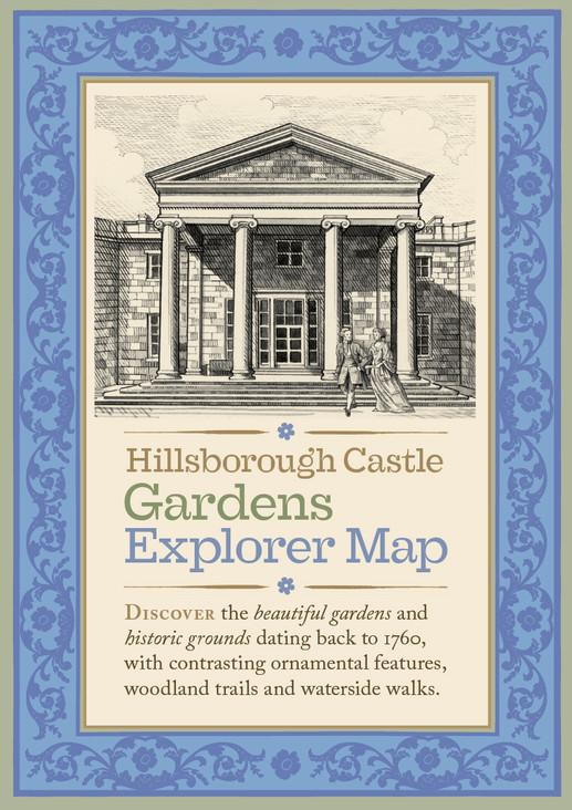 Hillsborough Castle Visitor's hand guide