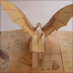Leonardo Pop-up Ornithopter