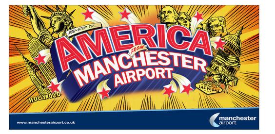 MANCHEST AIRPORT Ad campign