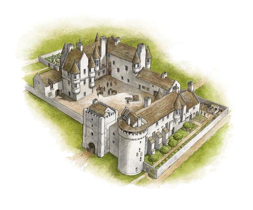 Kirkwall Palaces reconstruction
