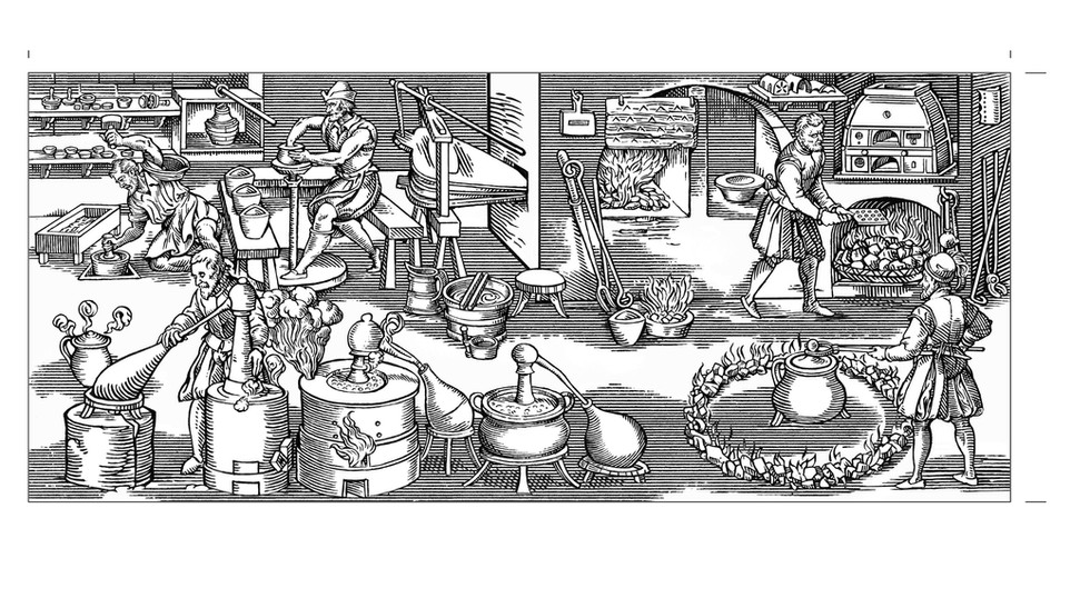 The Royal Mint in Tudor Times