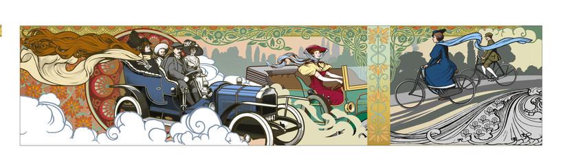 Coventry Motor Museum mural