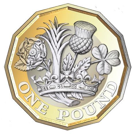 ONE POUND coin Design