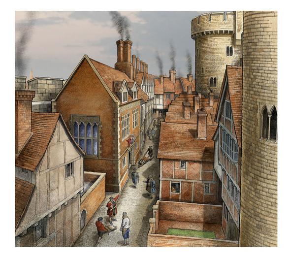 Mint Street, Tower of London