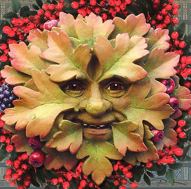 Hawthorn SEASONAL - YULE - WASSAIL Greetings Card