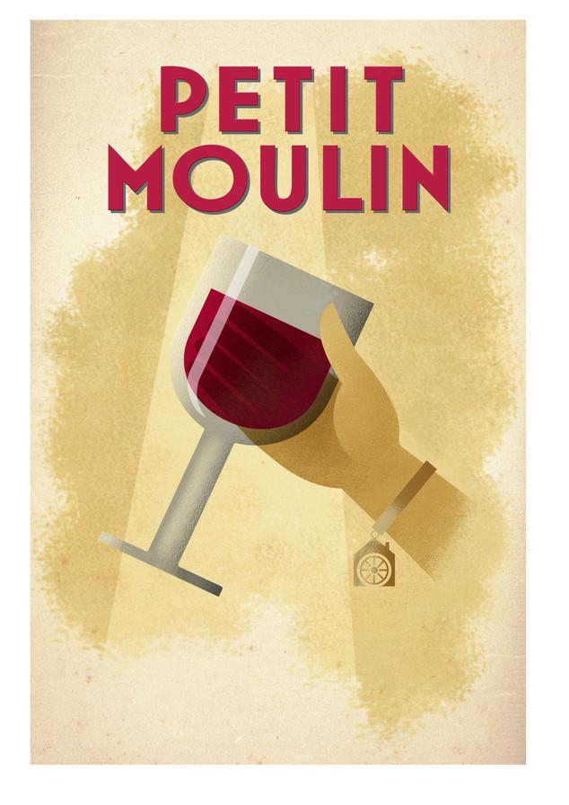 Merchant Wine label