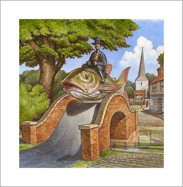 The Fish was tired but we still had many miles to go LIMITED EDITION PRINT